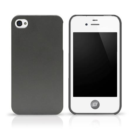 LAB.C 心情系列 iPhone4/4S 保護殼 [Iron Silver]鐵灰銀
