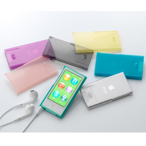 simplism iPod nano 7 薄型透水晶保護殼 (日本品牌)