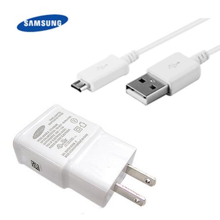 (裸裝)【三星原廠】Samsung Galaxy Note2 2A 旅充頭+傳輸線(Micro USB) ETA-U90JWS+ECB-DU4AWE