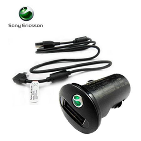 (裸裝)SonyEricsson Xperia 系列原廠車充+傳輸線(Micro USB)  AN400+EC600L