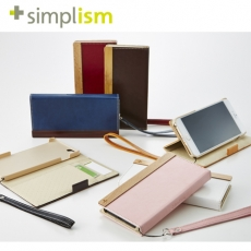 Simplism iPhone 6 Plus 6S Plus 側翻式皮革保護套 皮套 ^(