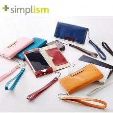 Simplism iPhone 6 Plus 6s Plus超輕量側翻皮革保護套 皮套 ^