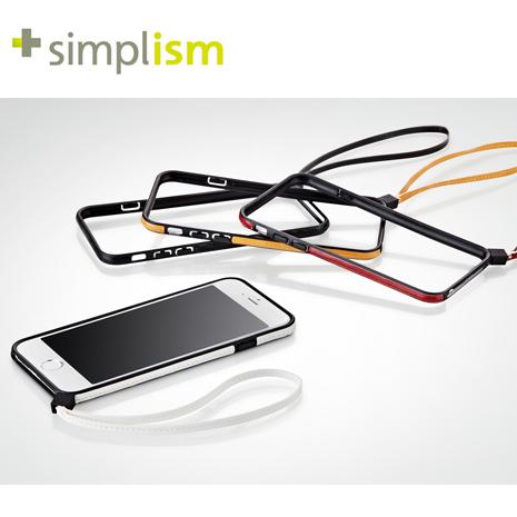 清倉特賣★【福利品】Simplism iPhone6 / 6S 塑膠保護邊框 (4.7吋) / 日本品牌