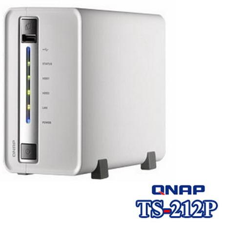 QNAP威聯通 TS-212P 1Bay網路儲存伺服器