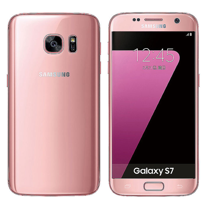 (送好禮)Samsung Galaxy S7 G930FD (4G/32G)霓光粉