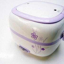 久熊 小電鍋/電蒸鍋/蒸煮鍋 單身族多功能料理鍋+贈洗米器+雪尼爾方巾
