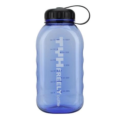 方形隨手暢快瓶-1000ml-藍