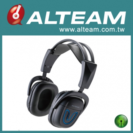 【ALTEAM我聽】RFD-975W 頭戴式2.4G無線耳機