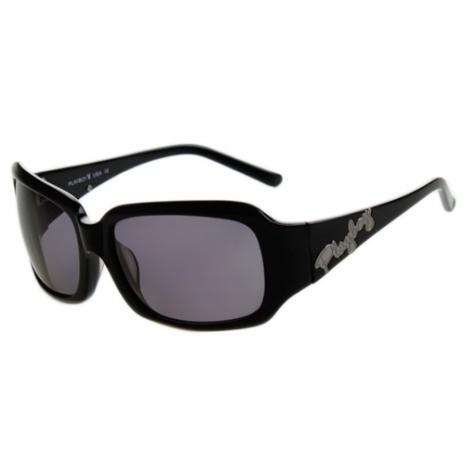 PLAYBOY-時尚太陽眼鏡(黑色)