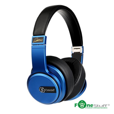 Fonestuff Drama5 Hi-Fi 劇院耳罩式耳機(搖滾藍)