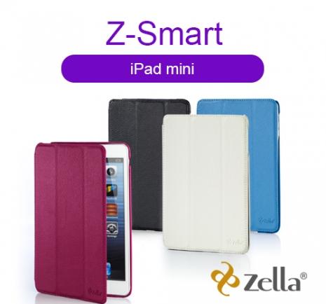[福利品] Zella Z-Smart iPad mini(一代)保護皮套