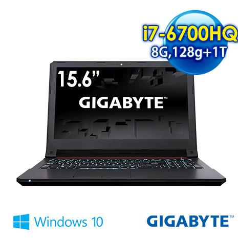 GIGABYTE P16GV5-2K7670H8GS1H1DDW10 15.6吋 筆電 (i7-6700HQ/8G/GTX960M2G獨顯/128G+1T/WIN10)