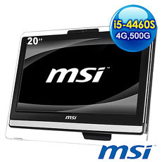 msi AE201~094TW~B54464G50S7VANXH 20吋 液晶電腦 ^(i