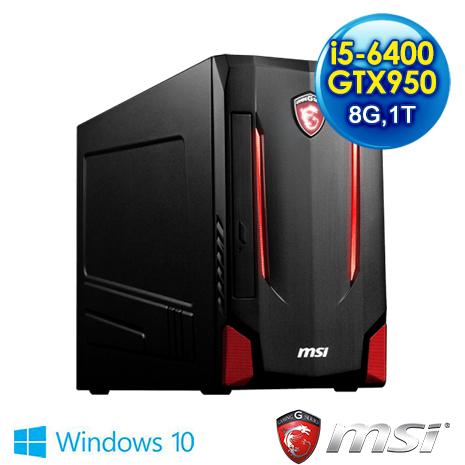 msi Nightblade MI2-014TW-B5640095028G1T0S10M電競專用機(i5-6400/8G/1T/GTX950)