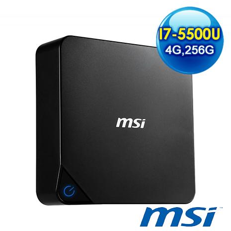 msi Cubi-231XTW-B7550U4UG25XX 迷你電腦 (I7-5500U/4G/256GSSD/NO OS)