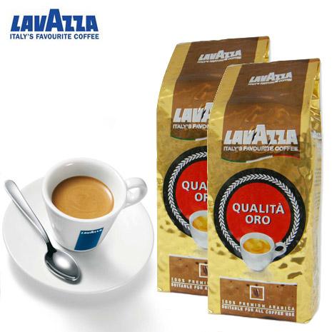 義大利 LAVAZZA QUALITA ORO 咖啡豆250g(8.8oz *2入)