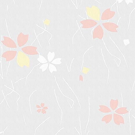 【8折促銷】日本meiwa抗UV靜電窗貼 (日式小花) - 46x100公分