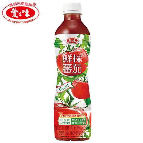 【愛之味】鮮採蕃茄汁SFN升級配方530ml(24入/箱)[ _活動]