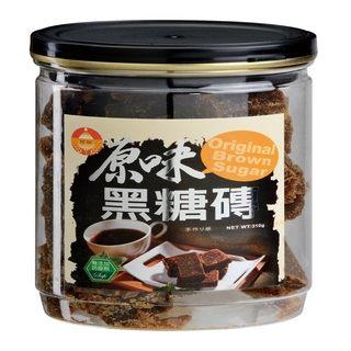 珍田 原味黑糖磚 4罐/入 慢火熬煮 天然ㄟ尚好 MC必喝 讓妳紅潤好氣色 全素
