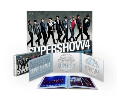 SUPER JUNIOR WORLD TOUR SUPER SHOW 4  雙碟DVD