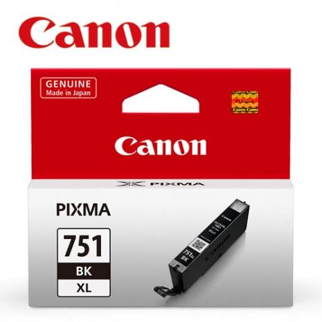 CANON CLI-751XL-BK 原廠相片黑XL墨水匣
