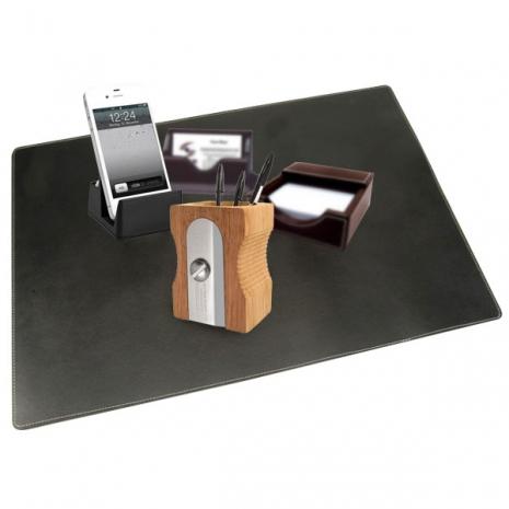 精粹辦公皮革桌墊(辦公/送禮自用) *不含擺飾商品(只售桌墊)