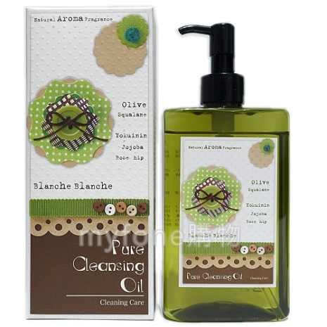 日本光伸真珠免稅店 橄欖卸妝油280ml (Blanche Blanche olive Pure Cleansing Oil)
