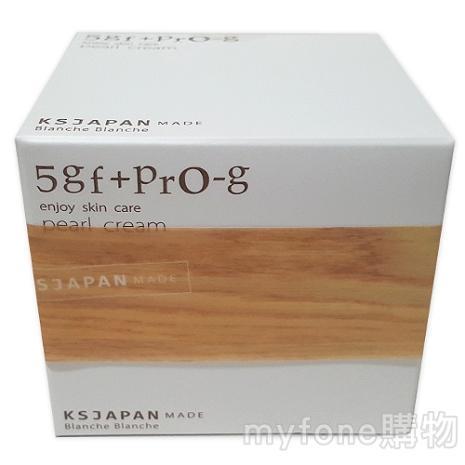 日本光伸真珠免稅店 Blanche Blanche 5GF+PRO-G Pearl Cream 抗皺保濕精華霜 50g