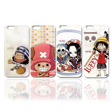 【東映授權正版】航海王iPhone 6s+/6 plus 5.5吋 i6+ 透明軟式保護殼 手機殼(喬巴款)