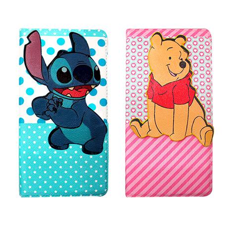 迪士尼授權正版 Disney  iPhone 6s+/6 plus 5.5吋 i6+ 磁力側翻支架立體皮套(史迪奇/維尼款)
