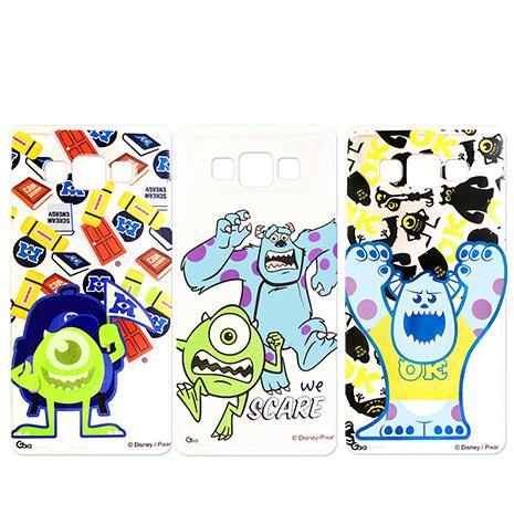迪士尼授權正版 Disney Samsung Galaxy A7 SM-A700 透明彩繪軟式保護殼 手機殼(怪獸大學款)