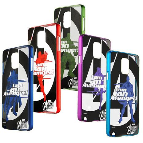 漫威 復仇者聯盟 三星 Galaxy Note4 N910 鋁合金金屬邊框背蓋保護殼 (英雄系列)