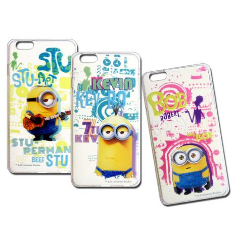 小小兵 正版授權 iPhone 6s+/6 plus 5.5吋 i6+ 透明軟式保護套 手機殼(人物篇)