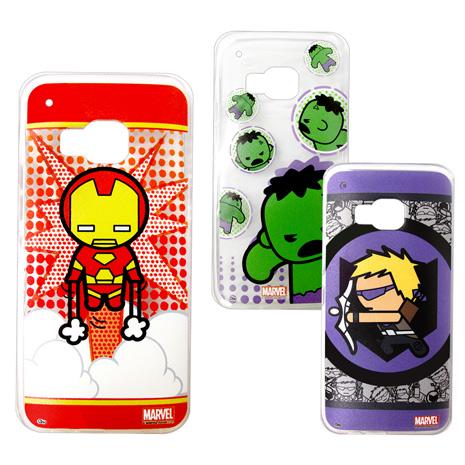漫威 授權正版 HTC One M9 復仇者聯盟 Q版透明軟式保護套 手機殼(英雄款)