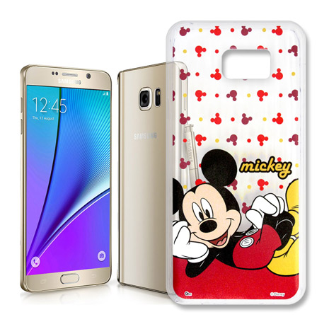 Samsung Galaxy Note5 透明軟式手機殼(悠閒米奇)