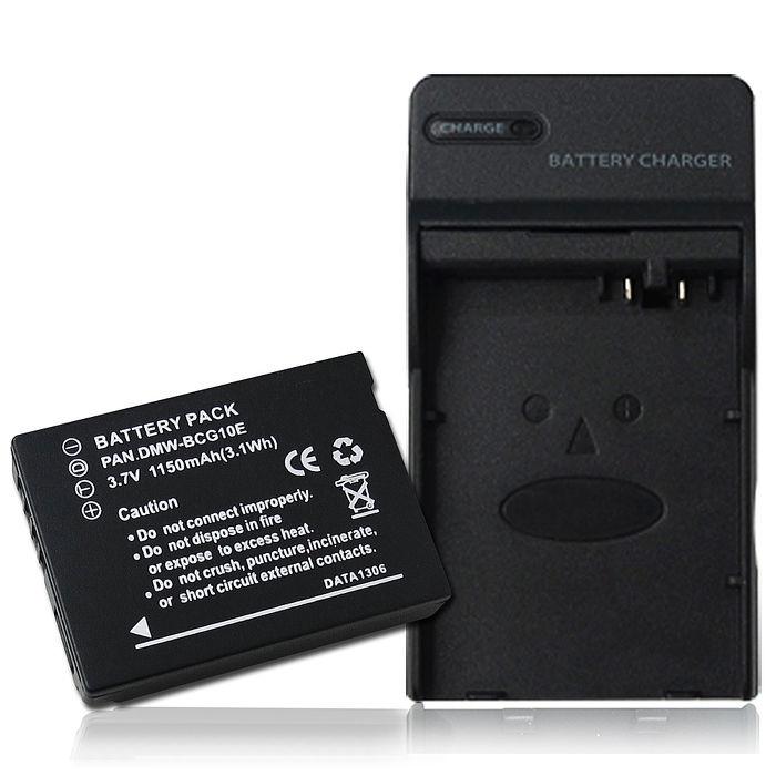 Panasonic DMW-BCG10E 高容量防爆相機充電組 TZ20,TZ18,ZX10,DMC-ZS10,ZS10,ZS8, ZS20,TZ30,DMC-3D1