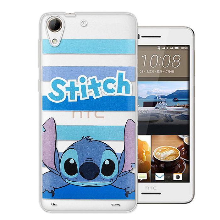 迪士尼授權正版 HTC Desire 728 大頭招呼系列軟式手機殼(史迪奇)