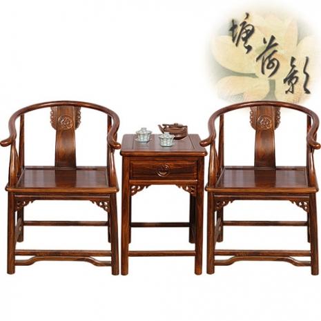 【塘荷影】明式太師椅組(一桌二椅)