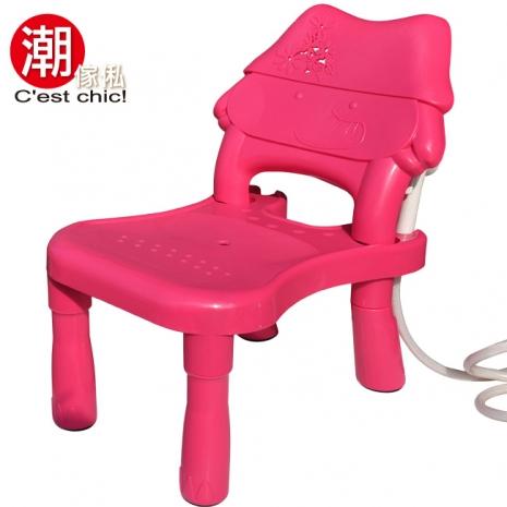 【潮傢俬】小可愛兒童洗頭椅_粉紅色