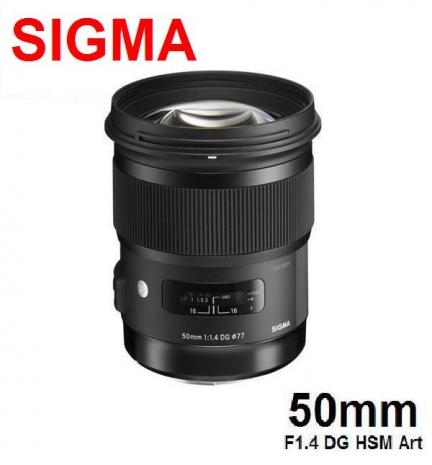 SIGMA 50mm F1.4 EX DG HSM  Art版 全片幅大光圈定焦鏡