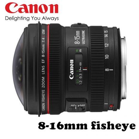 Canon EF 8-15mm F4L Fisheye USM