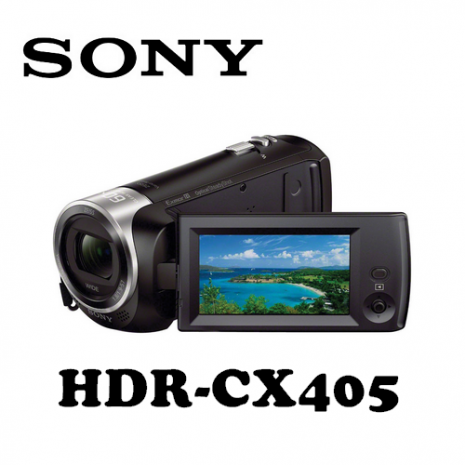 【SONY】HDR-CX405 高畫質攝影機