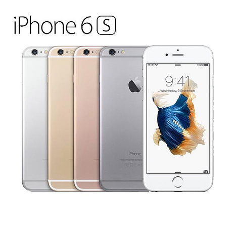 AppleIPhone 6s 64G Plus三色行動電源組