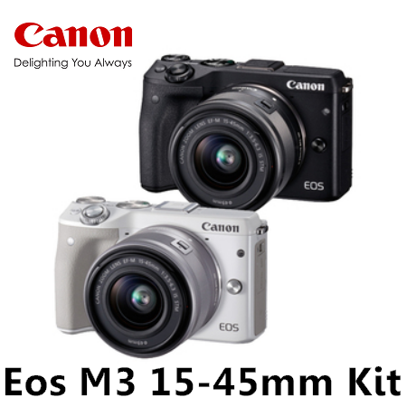 Canon EOS M3 + 15-45MM F3.5-5.6 IS STM Kit 單鏡組 公司貨