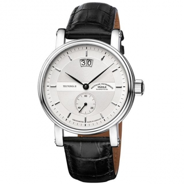 德國高級腕錶品牌 格拉蘇蒂-莫勒 Muehle-Glashuette Classical 經典系列-日耳曼時計 M1-33-75-LB 機械男錶 全球限量250枚