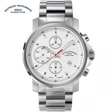 德國高級腕錶品牌:Muehle·Glashuette-Sporty Instrument Watches 運動系列M1-25-41-MB 機械男錶