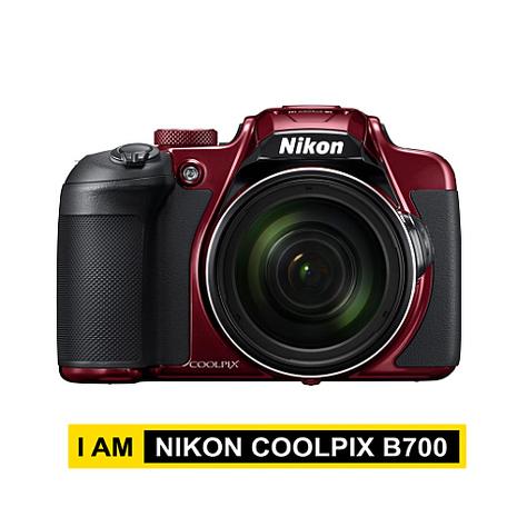 【搶先上市】 NIKON COOLPIX B700 公司貨 4K錄影 60倍 旅遊機 紅色
