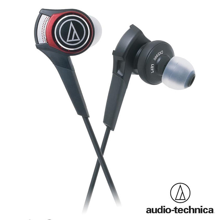 鐵三角 ATH-CKS990 SOLID BASS加強重低音耳塞式耳機