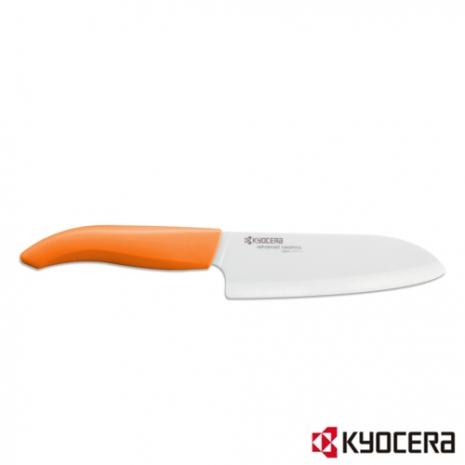 【KYOCERA】日本京瓷彩色陶瓷刀14cm(橙柄)