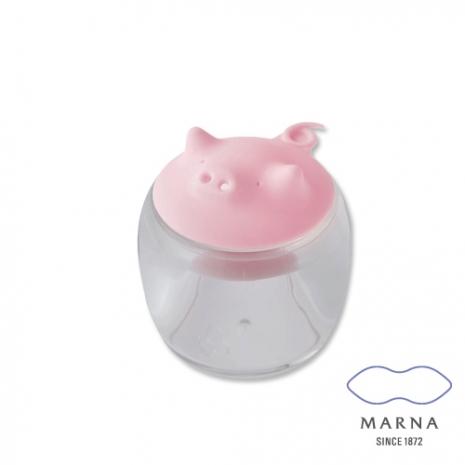 【MARNA】小豬造型調味罐50ml(粉)